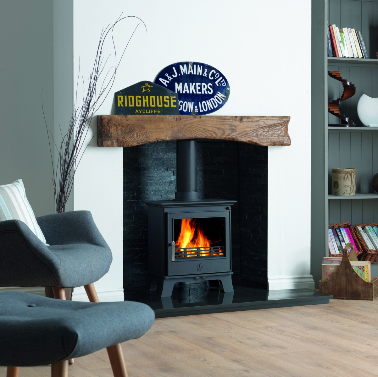 ACR Malvern II Classic Woodburners/Multi Fuel Stoves in Kent