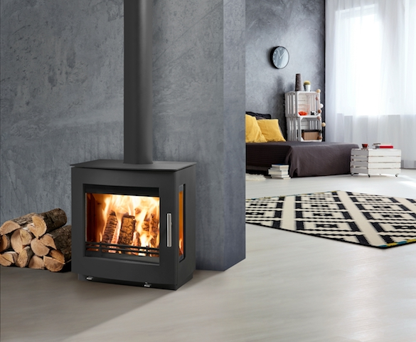 Westfire Uniq 23 Wood Burning Stove Cosy Stoves & Fireplaces