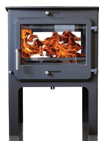 Ekol Clarity Double Sided High Stove Wood Burners & Multi Fuel Stoves