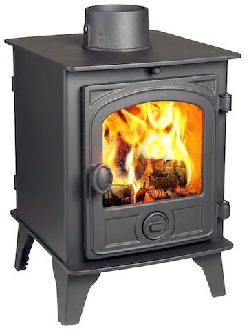 Hunter Hawk 4 Double Sided Single Depth  Woodburners & multi fuel stoves