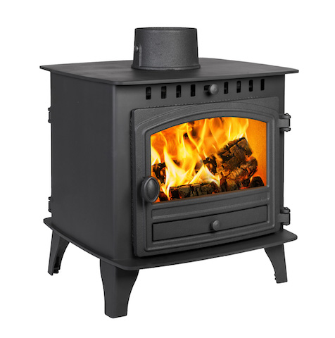 Hunter Herald 6 Double Sided Double Depth Wood Burners & Multi Fuel Stoves