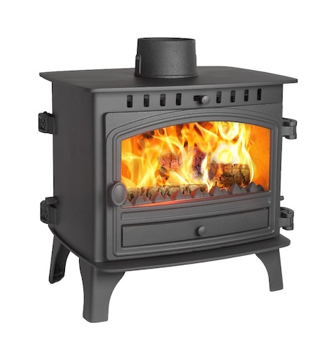 Hunter Herald 8 Double Sided Double Depth Wood Burner & Multi Fuel