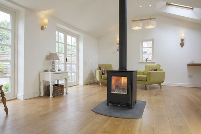 Mendip Loxton Double Sided Multi fuel stoves Kent
