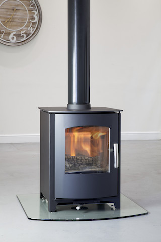 Mendip Churchill Double Sided Multi fuel stoves in Kent