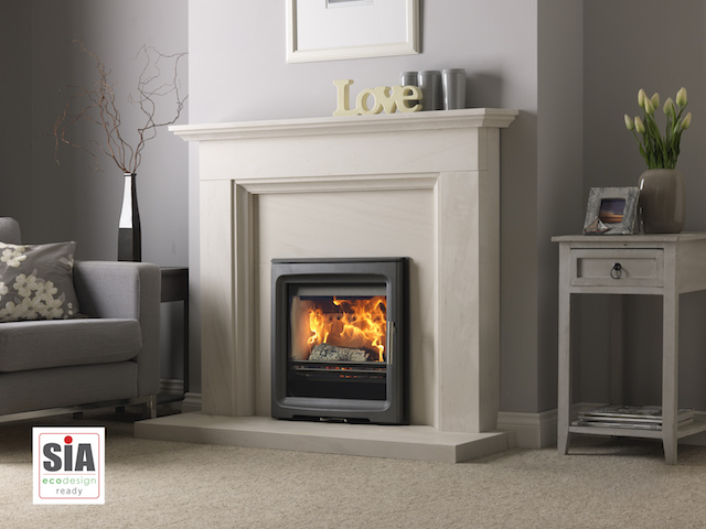 Charlton and Jenrick PV5 Wide Inset Woodburners/Multifuel stoves