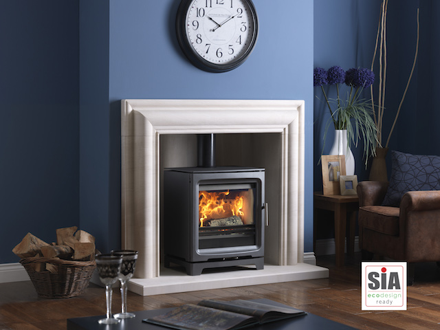 Charlton and Jenrick PV5 Wide Woodburners/Multifuel stoves