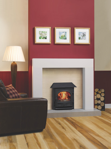 Stovax Stockton 7 Boiler Inset WoodBurner/MultiFuel Stoves