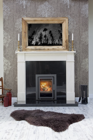 Westfire Uniq 35 Inset Wood Burning Stoves Cosy Stoves & Fireplaces