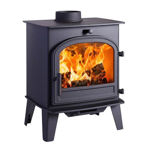 Cleanburn Lovenholm Traditional Wood Burners & Multi Fuel Stoves