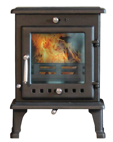 Ekol Crystal 5 Wood Burners & Multi Fuel Stoves