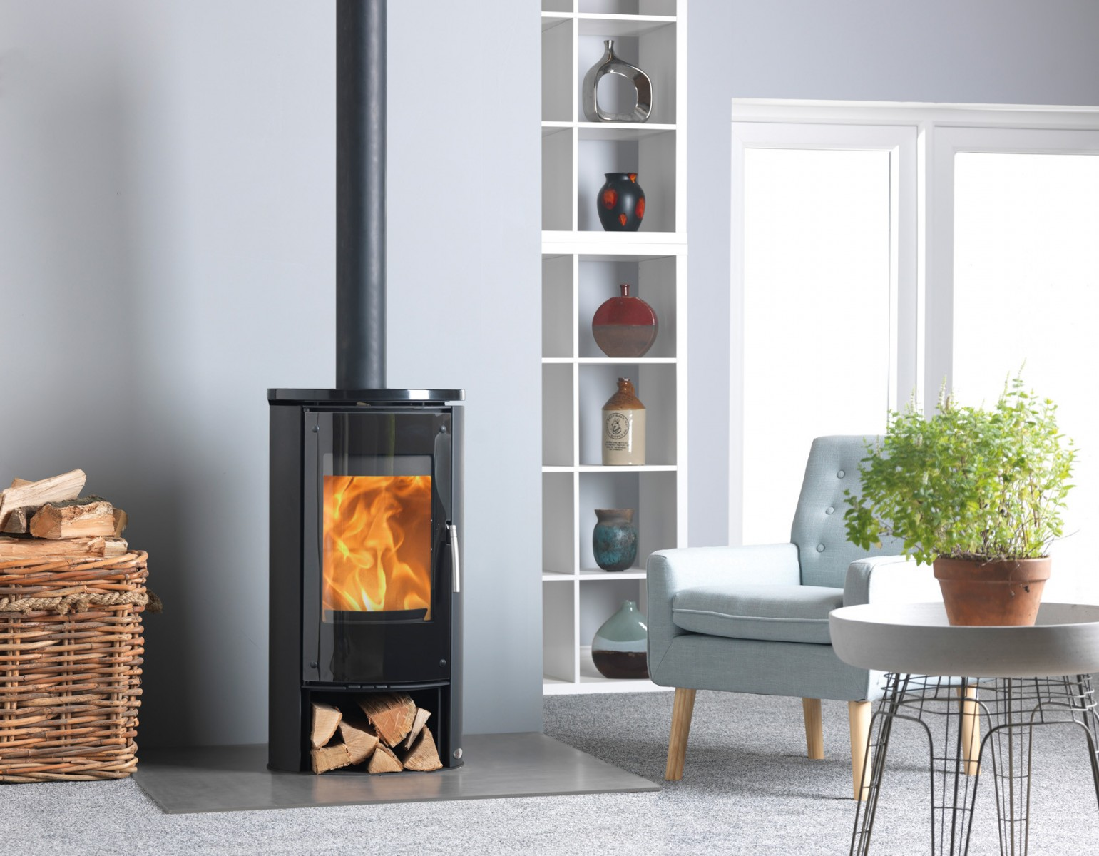 ACR Novus Woodburners/Multi Fuel Stoves in Kent