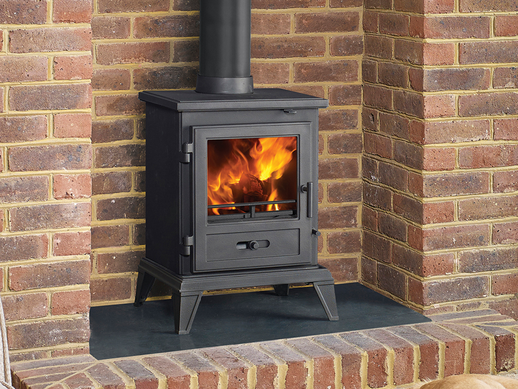 Quadrical 405 Multi Fuel Stove in Kent